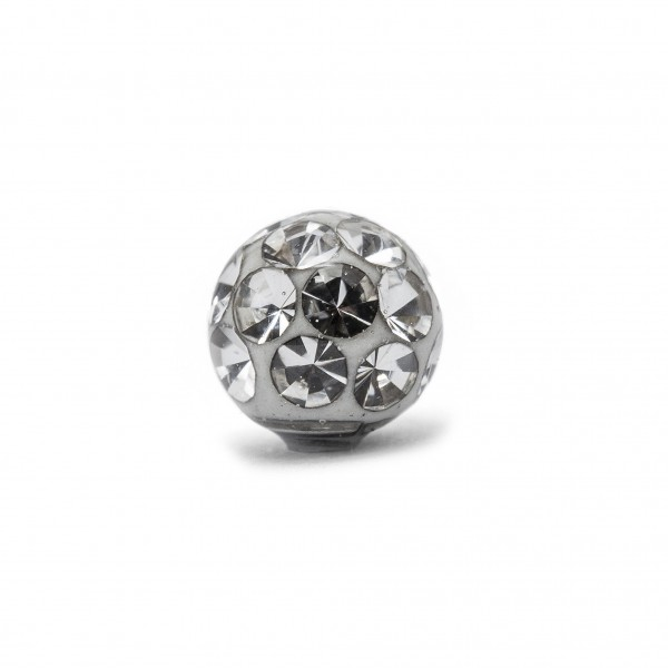 Epoxy-Kugel mit Kristallen (1.2mm*2.5mm)
