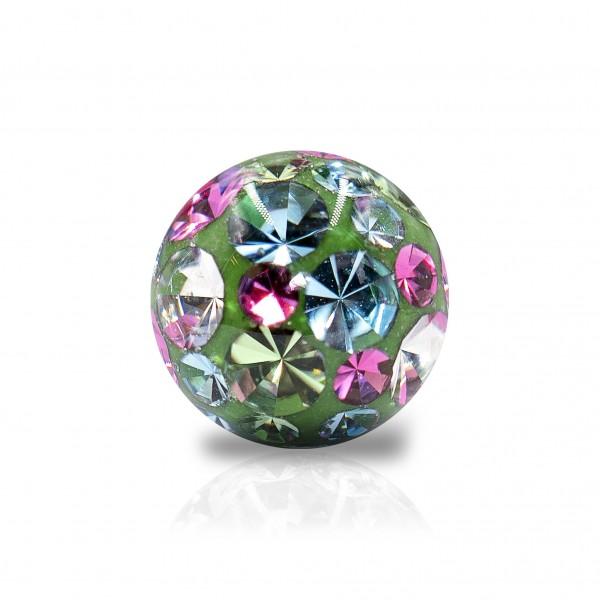 Epoxy-Kugel mit Kristallen (1.6mm*5.0mm)